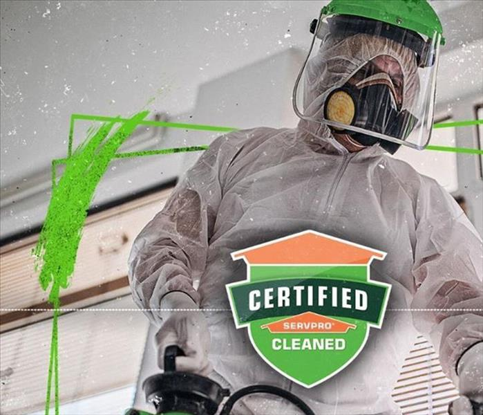 Certified: SERVPRO Clean, A Different Standard of Clean