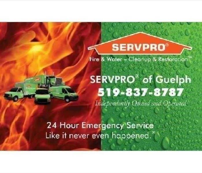 SERVPRO logo with fire image on one side and water image on the other